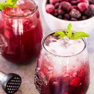 A Simple and Skinny Sangria Spritzer   Take Two Tapas   #Sangria #Spritzer #SkinnyCocktails #WineCocktails #EasyCocktails #SimpleCocktails