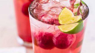Slick Rick Cocktail - Grape Lime Rickey with Vodka