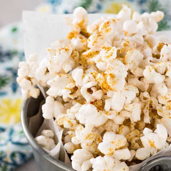 Spicy Nacho Popcorn - Spicy Nacho Doritos Flavored Popcorn