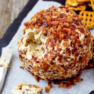 Elvis Cheese Ball - Peanut Butter Banana Bacon Cream Cheese Ball | Take Two Tapas | #ElvisRecipe #BananaRecipe #BaconRecipe #PeanutButterBacon #PeanutButterBanana
