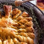 Easy Golden Brown and Flaky Pumpkin Pull Apart Puff Pastry | Take Two Tapas | #PuffPastryRecipe #PumpkinRecipe #PullApartBread #FallRecipe #AppetizerRecipe #HolidayFoods #EasyHolidayRecipe