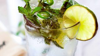 Spicy Jalapeño Mojito - Easy, Refreshing, Sparkling, and Spicy!