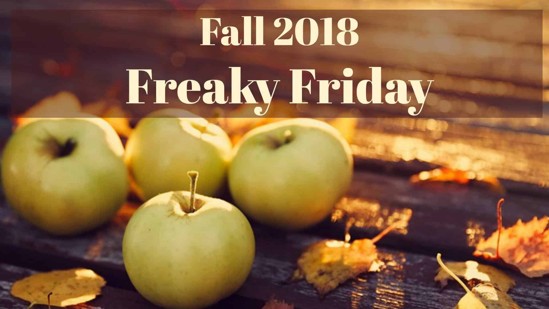 Freaky Friday Fall 2018