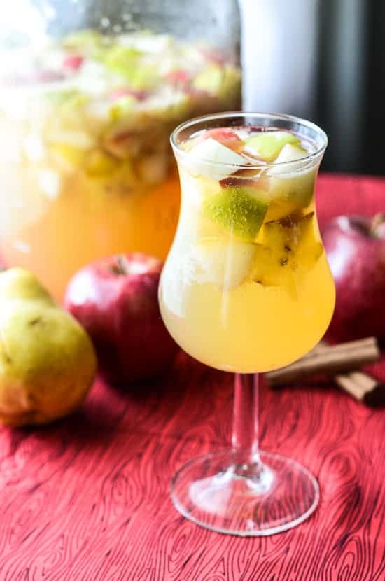 Fall Harvest Sangria | Fall Punch