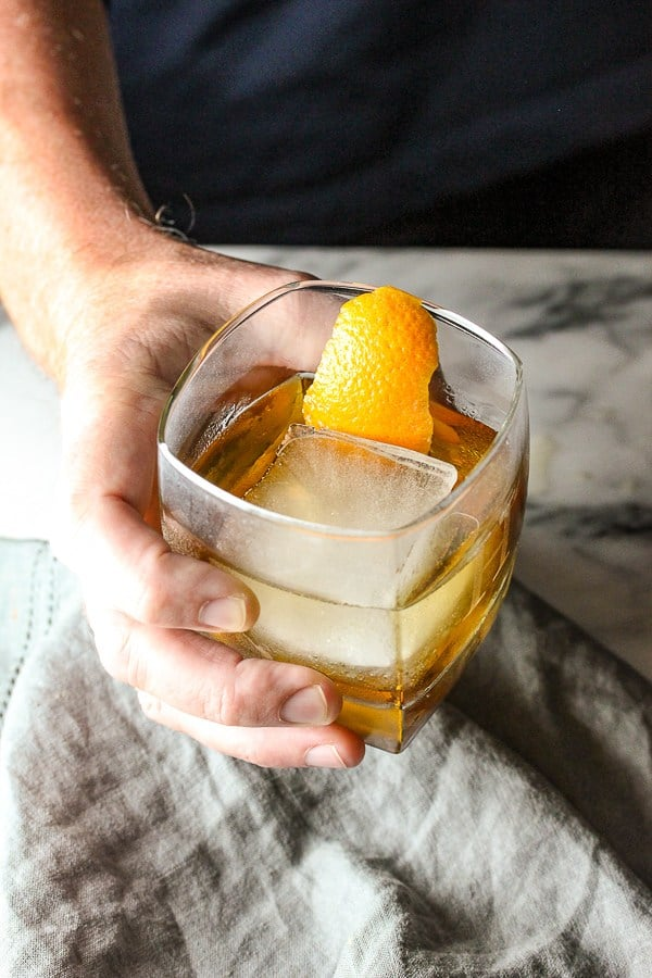 Jamison Old Fashioned | Fall Cocktail