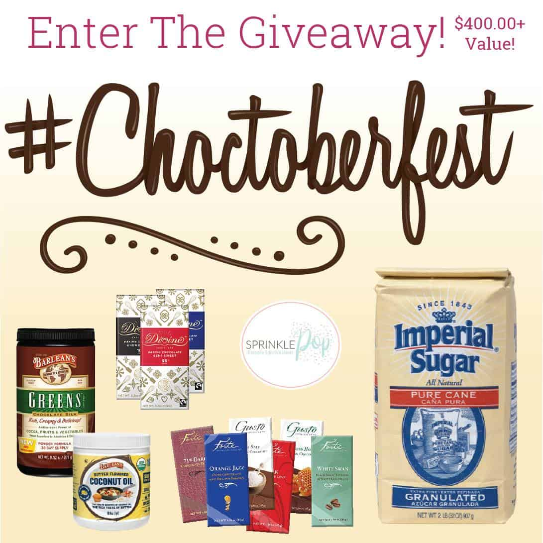 #Choctoberfest2018 Giveaway Graphic