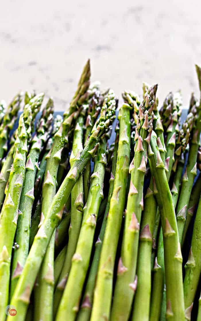 Pick fresh and firm asparagus spears