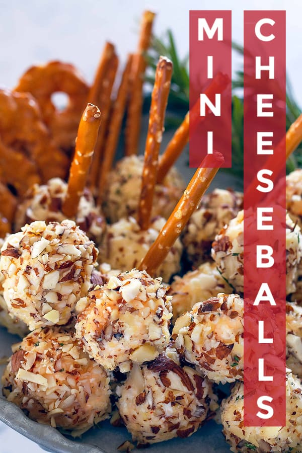 Best Mini Cheese Balls for the holidays!