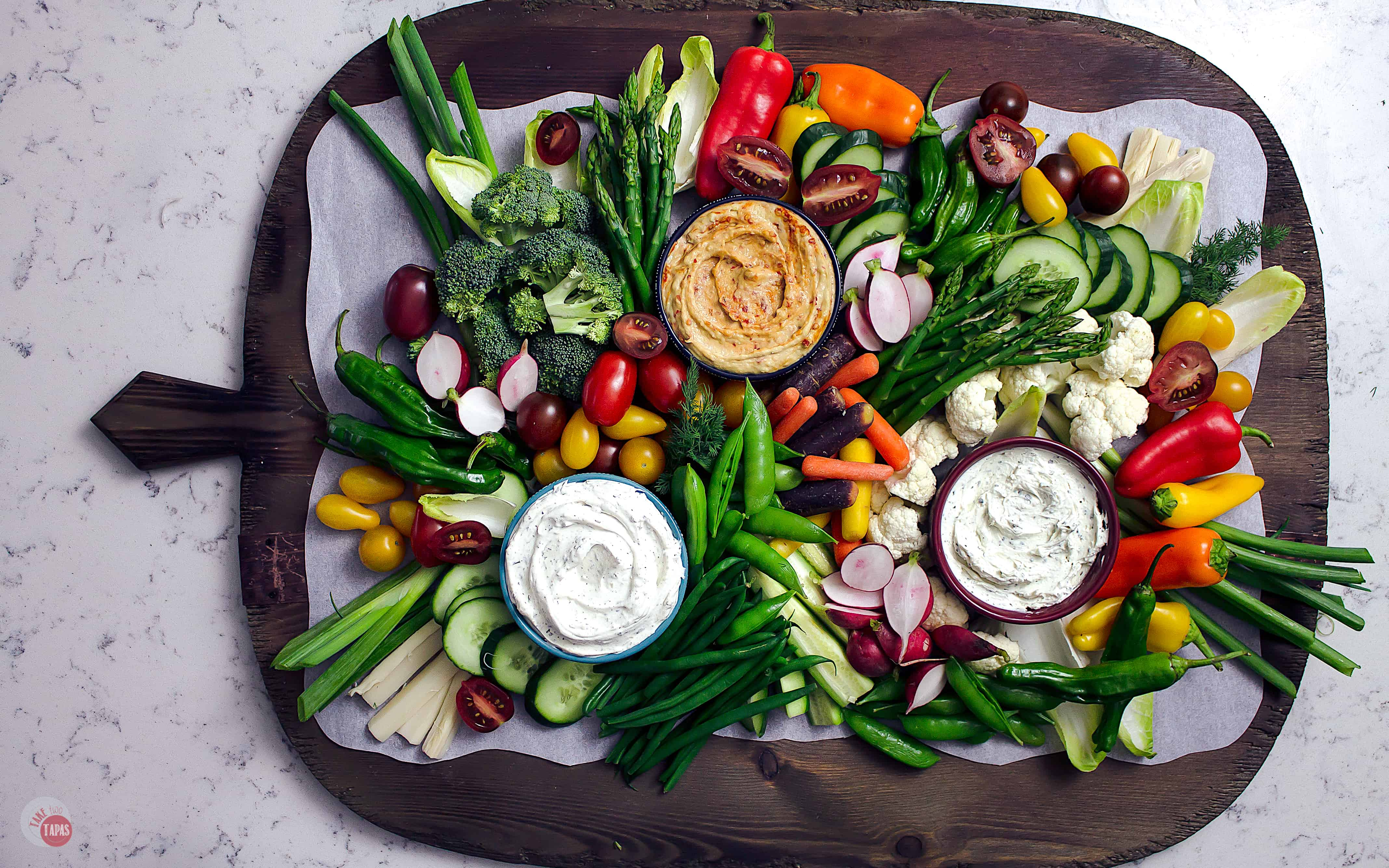 How To Make The Easiest Crudites Platter Ever Vegetable Tray