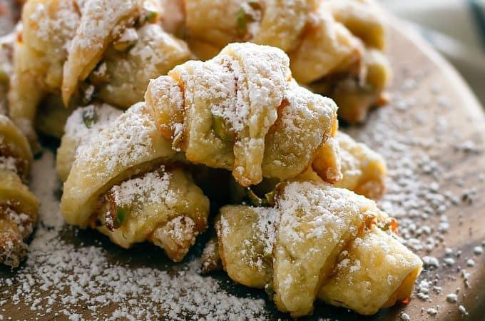 Hot Pepper Jelly Rugelach Cookies | Take Two Tapas | #RugelachCookies #CookieRecipe