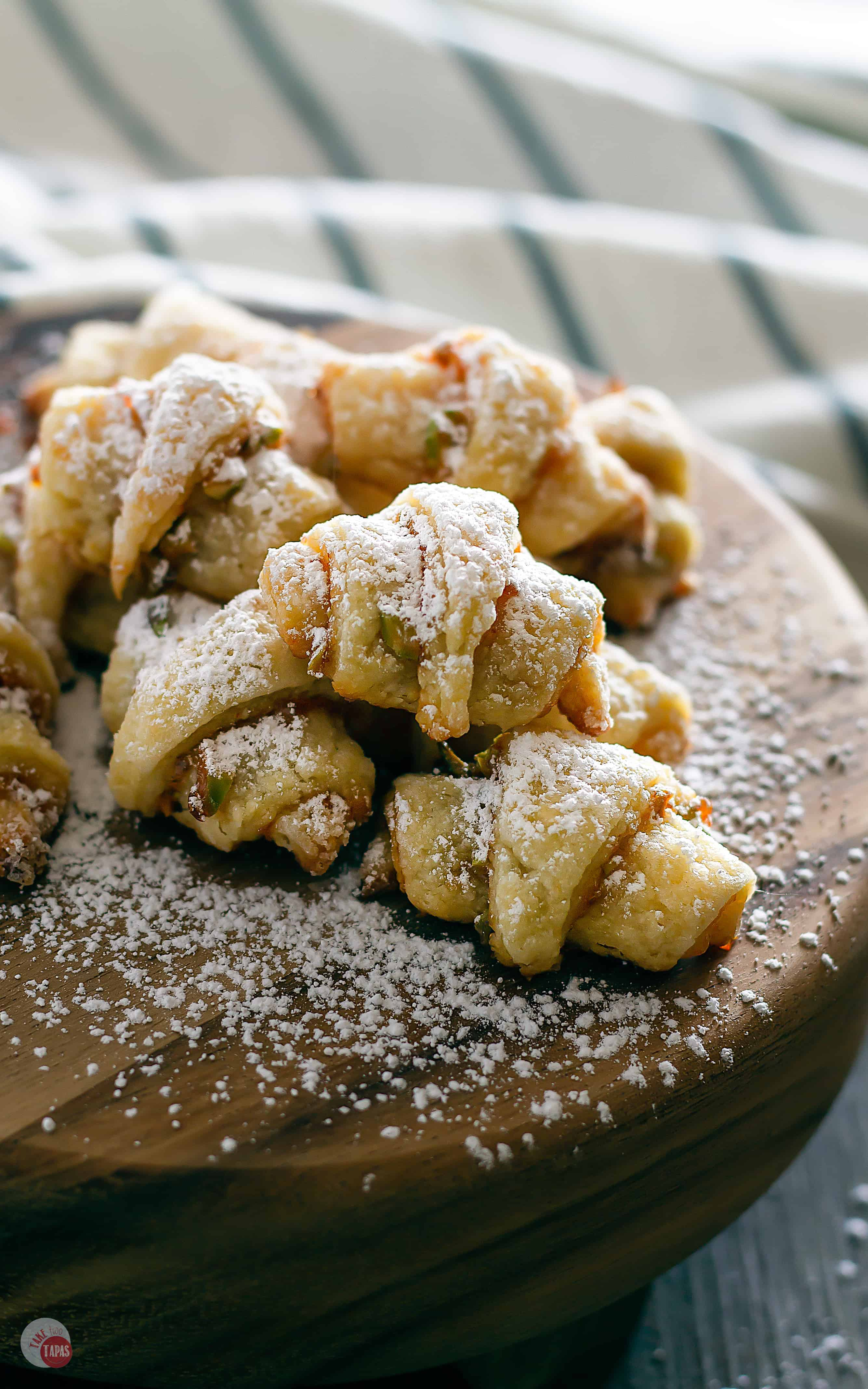 Hot Pepper Jelly Rugelach Cookies | Take Two Tapas | #RugelachCookies #CookieRecipe