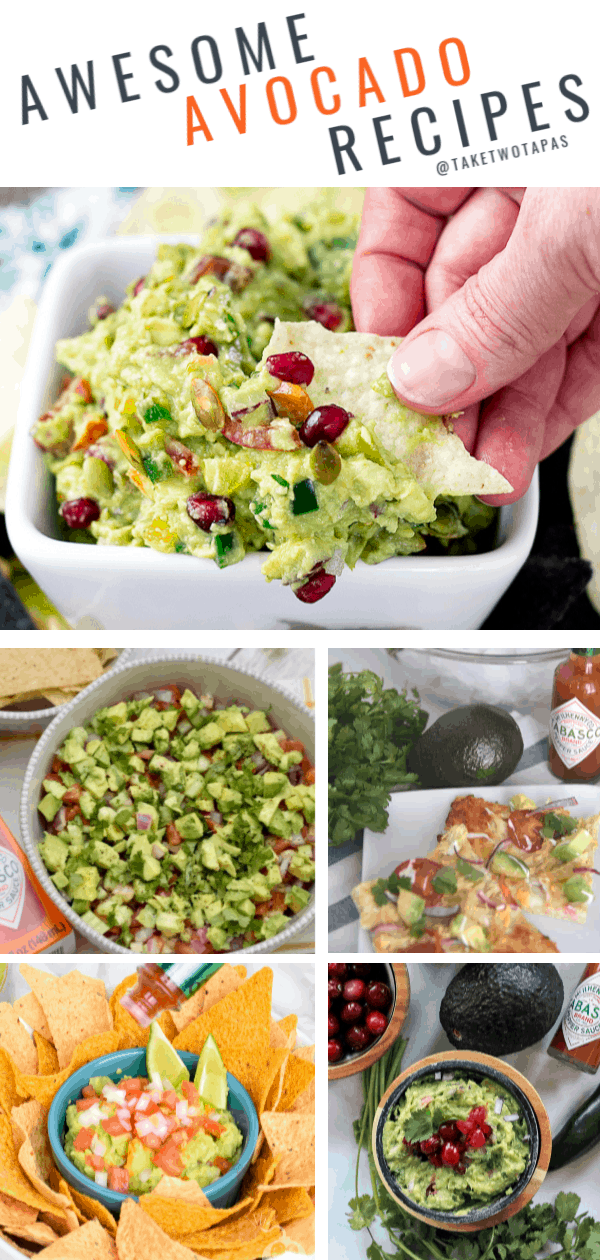 Check out all these amazing avocado recipes!