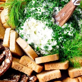 Benedictine Cheese Ball with Dill #BenedictineSpread #Benedictine #KentuckyDerby #Appetizers