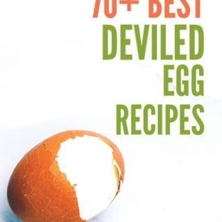 cover photo for list of deviled egg recipes
