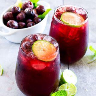 cherry limeade punch