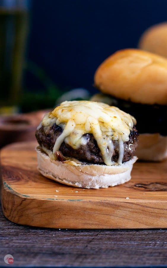 Lamb Slider with Cheese