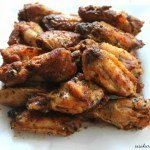 Whole30 Salt and Vinegar Chicken Wings
