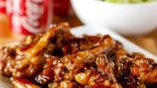 Crispy Coca-Cola Baked Chicken Wings