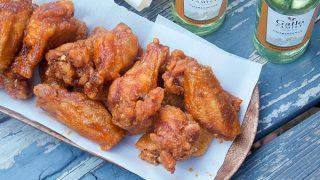 Crispy Maple Hot Wings – Double Fried
