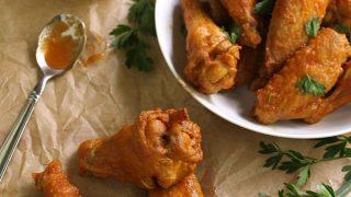 Roasted Pepper Hot Wings