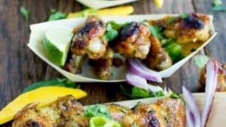 Spicy Mango Chicken Wings Recipe