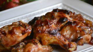 Strawberry Jalapeno Chicken Wings