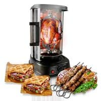 Rotisserie Shawarma Machine, Kebob Machine