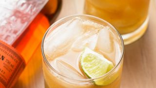 Apple Ginger Bourbon Fizz