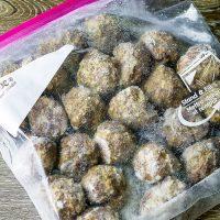 Homemade Freezer Meatballs