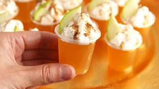 Best Apple Cinnamon Jell-O Shots