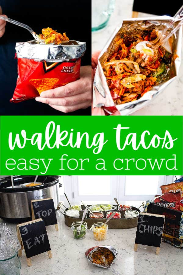 pinterest image for walking tacos