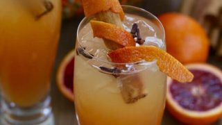 Fireball Cinnamon Apple Cider Fall Cocktails
