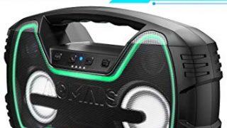 Bluetooth Speaker, 25W, LED Lights