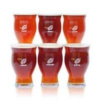 Six Ultimate Pint Glasses