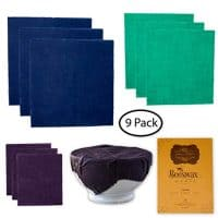 Beeswax Wrap For Food Storage: 9 Pack