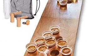 Mini Beer Pong Tabletop Set