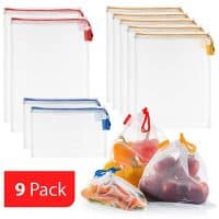 Produce Bags Set of 9