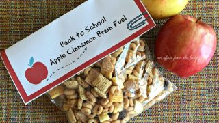 Back to School - Apple Cinnamon Brain Fuel