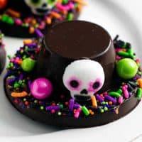 Día de Muertos Chocolate Hats