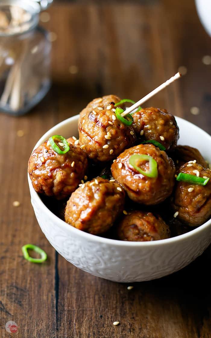 Hawaiian Meatballs {Slow Cooker} Pineapple Ginger Meatballs