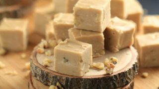 Old Fashioned Maple & Walnut Fudge