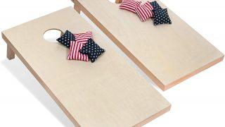 Corn Hole Boards Set & 8 Bags