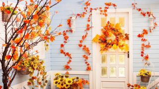 24 Fall Door Decorations - Ideas for Decorating Your Front Door for Autumn