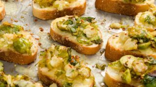 Best Brussels Sprout Crostini