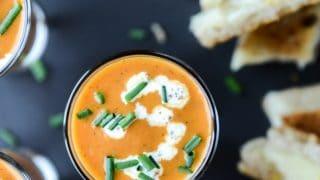 Creamy Tomato Soup Shooters