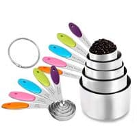 Measuring Cups & Spoons Set of 10