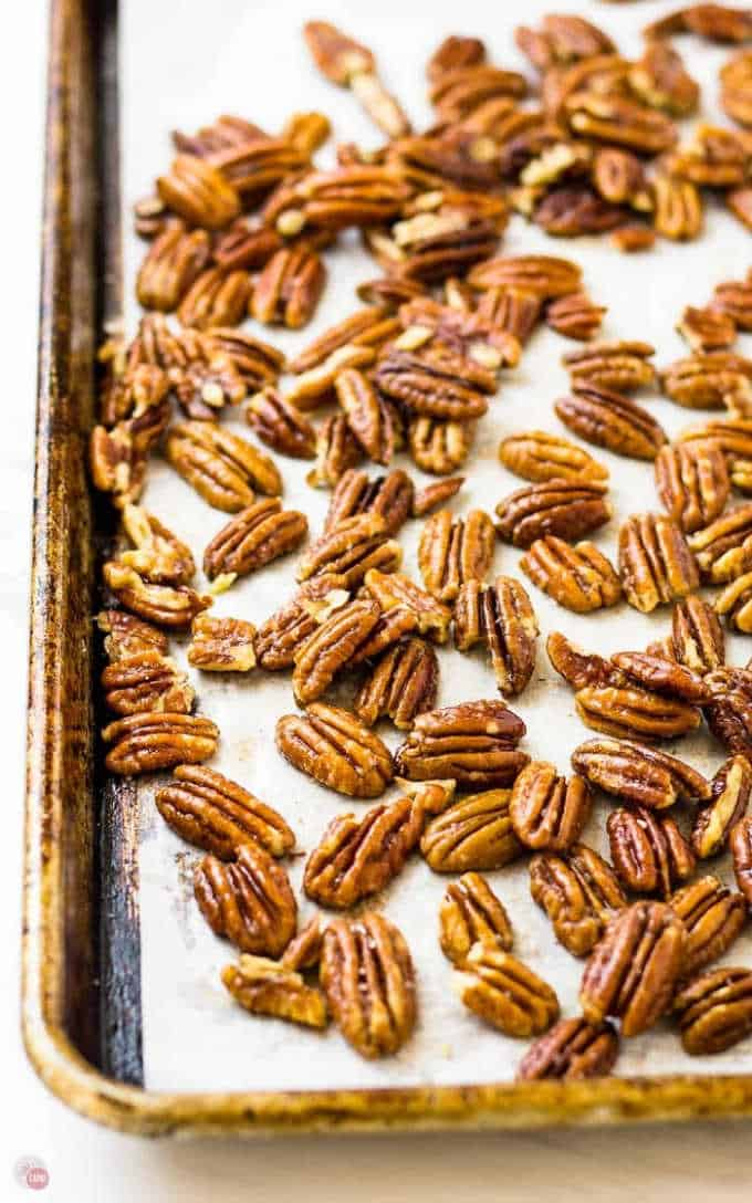 Easy Toasted Pecans {Oven Recipe + Lots of Tips!}