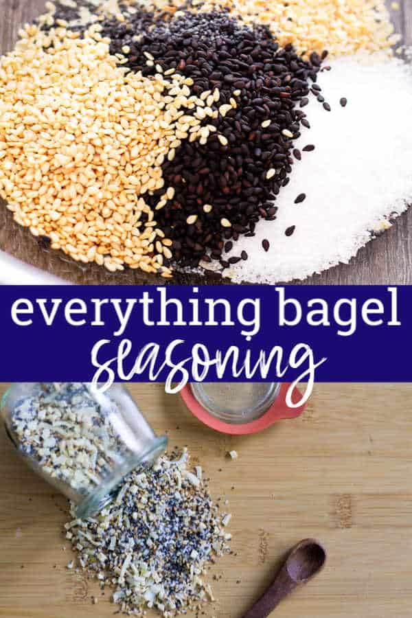 pinterest image for everything bagel seasoning