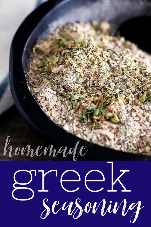 Pinterest image for Greek Seasoning