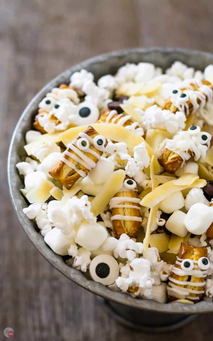 close up picture of mummy munch mix